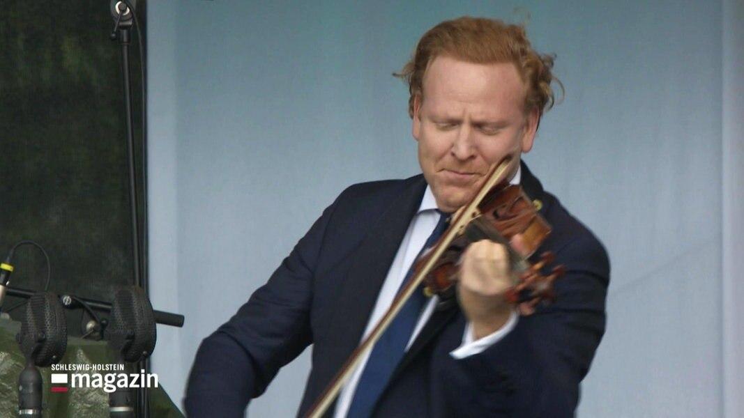 SHMF: Freiluft-Konzert mit Daniel Hope