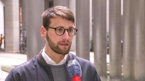 Martin Helfrich, Sprecher der Hamburger Sozialbehörde.