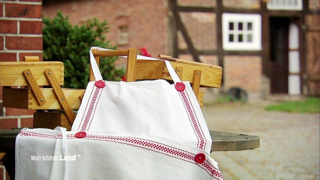 Selber Nahen Kuchenschurze Mit Knopfen Ndr De Fernsehen Sendungen A Z Mein Schones Land Tv