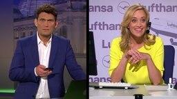 Judith Richter als Lufthansa Callagent