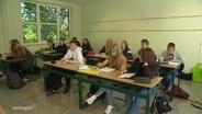Schüler im Klassenzimmer.