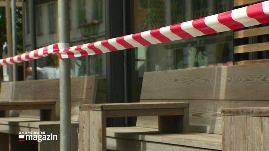Heide: Leere Innenstadt wegen Kontaktverbot