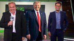 Oliver Kalkofe, Donald Trump und Christian Ehring