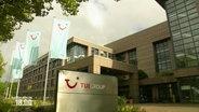 Ein Blick auf das Firmengelände von TUI.