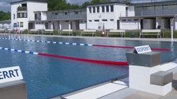 Schwimmbecken in Höxter.