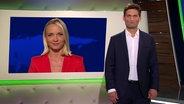 Christian Ehring mit Janin Ullmann im Hintergrund.