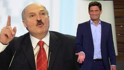 Alexander Lukaschenko und Christian Ehring.