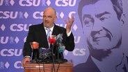Torsten Sträter als Vize-Ersatz-Pressesprecher von Markus Söder