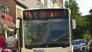 Der Citybus in Bad Doberan.