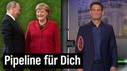 Putin, Merkel und Ehring.