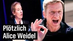 Michael Kessler wird plötzlich Alice Weidel
