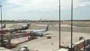 Das Flugfeld des Hamburger Helmut Schmidt Airports.