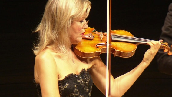 Violinistin Anne-Sophie Mutter