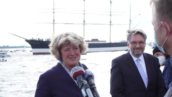 Kulturstaatsministerin Monika Grütters (CDU). © NDR Foto: Screenshot