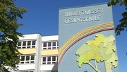 L'école polyvalente Hunderwasser à Rostock.