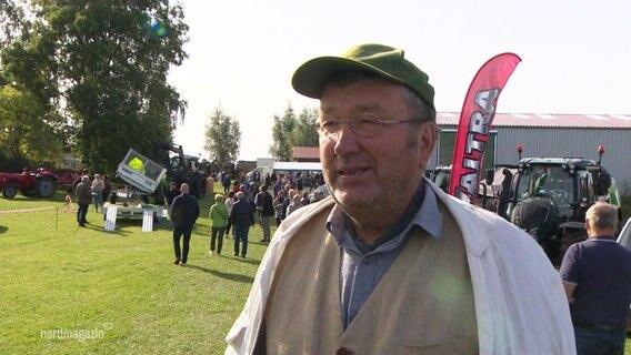 Burkhard Roloff vom Bund für Umwelt und Naturschutz MV