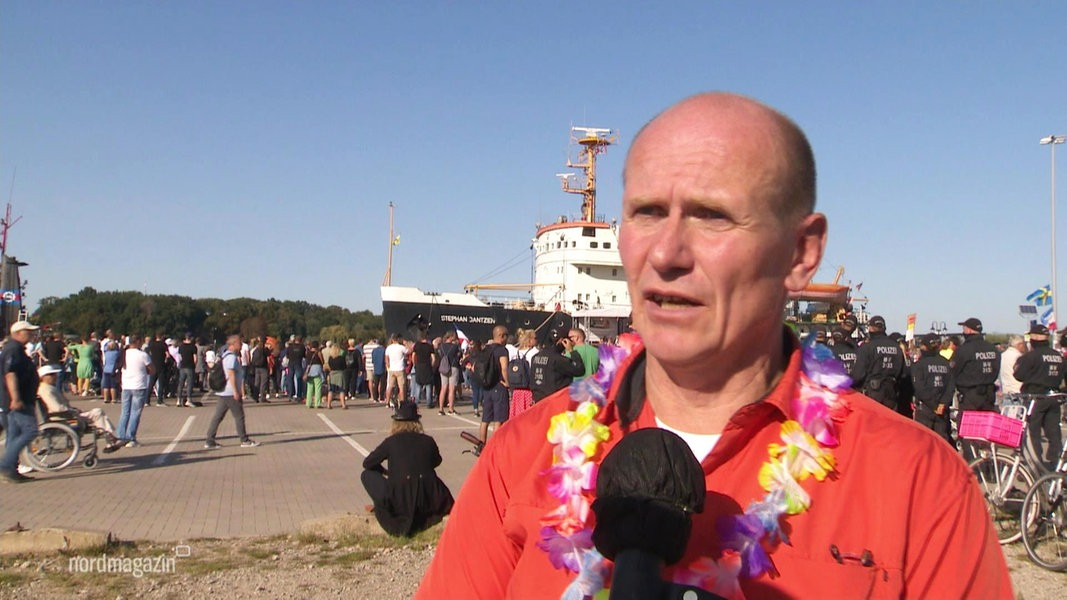 600 Menschen bei Corona-Demo in Rostock