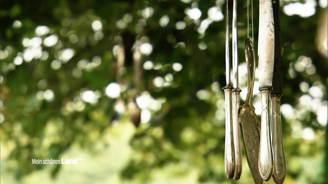 Upcycling Fur Besteck Ein Windspiel Fur Den Garten Ndr De Ratgeber