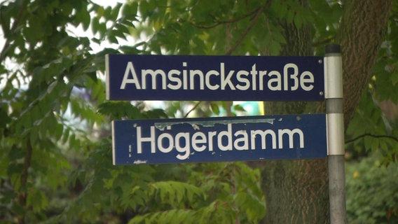 Straßennamen Hamburg Geschichte