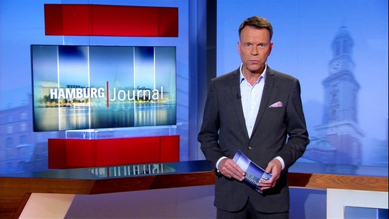 Ulf Ansorge modiert das Hamburg Journal.