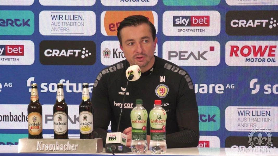 """Eintracht-Trainer Meyer fassungslos: """"Schwer nachzuvollziehen"""""""