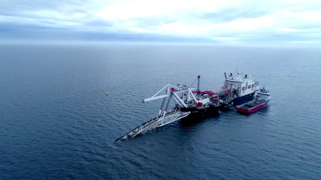Nord Stream 2: Bau der Pipeline soll weitergehen