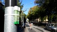 Messröhrchen für die Messung von Stickoxid in der Luft © NDR