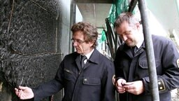 Prof. Reinhard Ries, Branddirektor Frankfurt © NDR