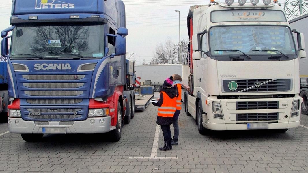 7 Tage Unter Truckern Ndrde Fernsehen Sendungen A Z 7 Tage