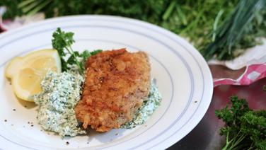 Cordon bleu mit Frankfurter Grüner Soße