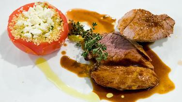 Rezept Lammkeule Mit Gefüllten Tomaten Ndrde Ratgeber Kochen