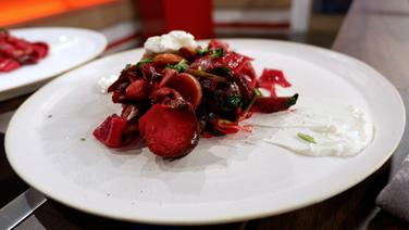 """Beetroot"": Rote Bete Pasta © NDR"