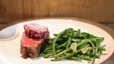 Rezept Steak Mit Rotweinbutter Und Bohnen Ndrde Ratgeber Kochen