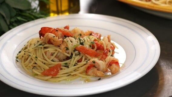 "Rezept ""Spaghetti mit Garnelen"" | NDR.de - Ratgeber - Kochen"