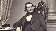 Robert Bunsen, das Bild entstand um 1860 © picture-alliance / akg-images