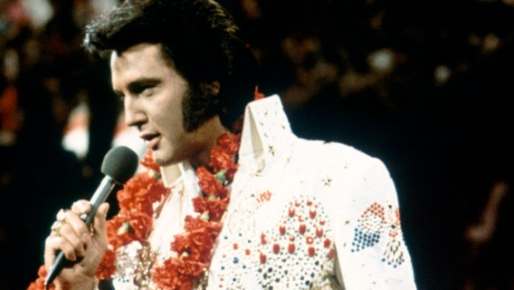 Elvis Presley live auf Hawai (1973) © picture-alliance / united archiv Foto: 91040