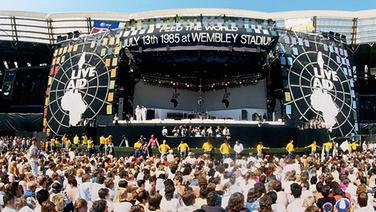 Live Aid for Africa © picture-alliance / empics