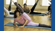 Jane Fonda in Aerobic Outfit © picture alliance / united archives