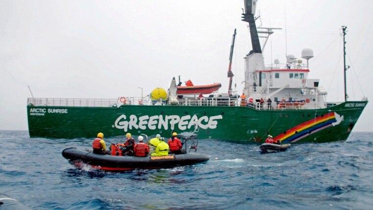 Bildergebnis für fotos von greenpeace expedition in die antarktis