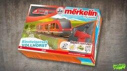 Die Merkelin Modelleisenbahn, das Einsteigerset Vollhorst mit vielen Bayern-Features.  Foto: Screenshot
