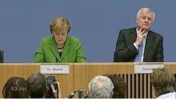 Merkel und Seehofer haben sich nichts zu sagen