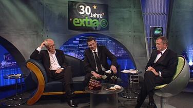 30 Jahre extra 3 mit Thomas Pommer, Jörg Thadeusz und Hans-Jürgen Börner