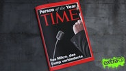 Time-Magazin Person of the Year 2016: Das Mikro, das Trump verhinderte.