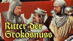 Horst Seehofer, Angela Merkel und Martin Schulz sind die Ritter der Grokosnuss.