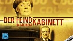 """Angela Merkel und Jens Spahn in """"Der Feind in meinem Kabinett""""."""