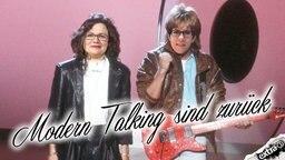 Modern Talking sind zurück! Mit Andrea Nahles und Annegret Kramp-Karrenbauer.