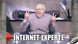 """Axel Voss, EU-Abgeordneter ist der """"Internet-Experte""""."""