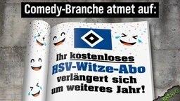 Comedy-Branche atmet auf: Ihr kostenloses HSV-Witze-Abo verlängert sich um weiteres Jahr!