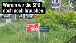 Warum wir die SPD doch noch brauchen: Hier pflegt die SPD (den Garten). Aber nicht besonders gut.