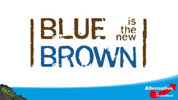 Blue is the new brown
